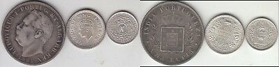Just Reduced!! 3 India Silver Coins 1881-1943 Grades To Bu