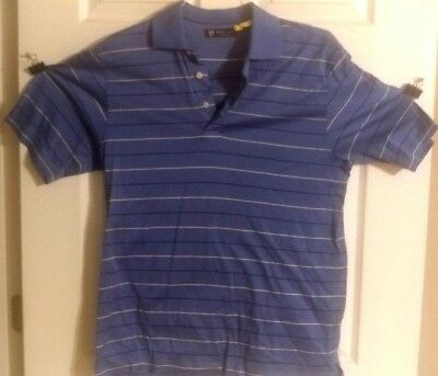 f4350f85b Oxford Golf Polo Casual Rugby Size Small Short Sleeve Mens Shirt 100% Cotton