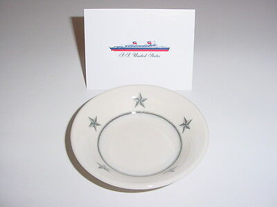 """SS UNITED STATES LINES  4"""" Lemon Dish  /  Mayer China  /  Perfect Condition"""