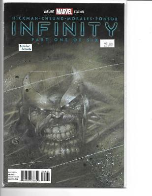 infinity 1 Party Retailer Capital City Variant Marvel FREE SHIP Kubert Cover