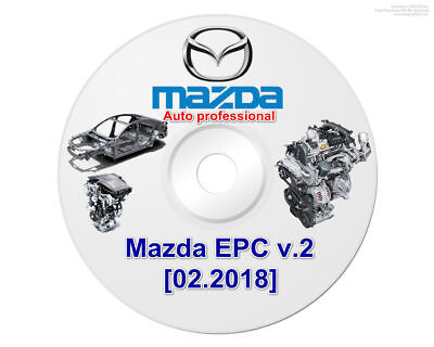 mazda epc v2 2018  all parts catalog for mazda. 60 seconds delivery