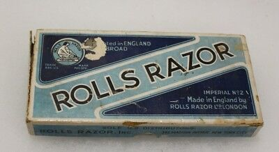 Vintage Rolls Razor Imperial No 2 In Original Box With Instructions