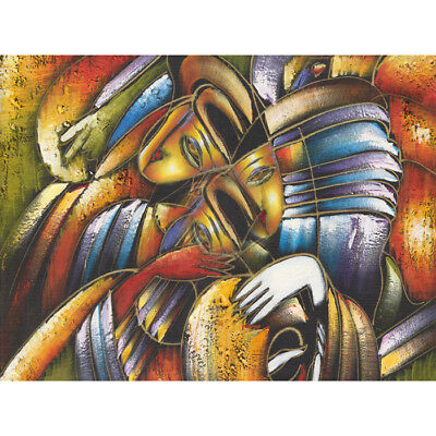 Abstract face  Picasso HD Canvas Art Print Oil Painting Decor Multi Sizes #M157