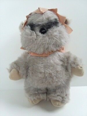 Vintage Star Wars Princess Kneesaa Ewok Plush 1983 Kenner Toy ROTJ Complete RARE