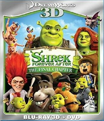 Shrek Forever After 3D (Blu-ray 3D + DVD Combo) New Animated