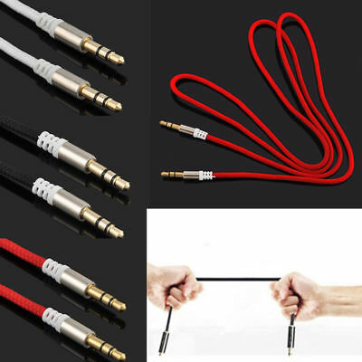3.5mm Jack Male to Male Car Aux Auxiliary Cord Stereo Audio Cable-for Phone iPod