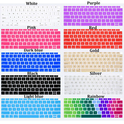 For MacBook Air 13 2018 Release A1932 Laptop Keyboard Cover Silicone Skin Film
