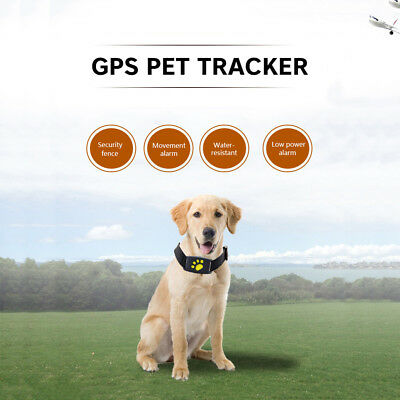 Cat Dog Pet GPS Collar GPS Electronic Electric Wireless Anti-Lost tracker UK D