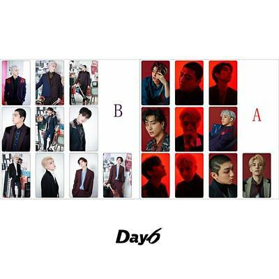 Kpop Day6 Remember US: Youth Part 2 Photo Stikcy Card Photocard Stickers 10pcs