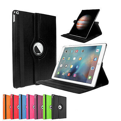 For Apple iPad 9.7 2018 6th Gen 360 Rotating Shockproof Leather Stand Case AU