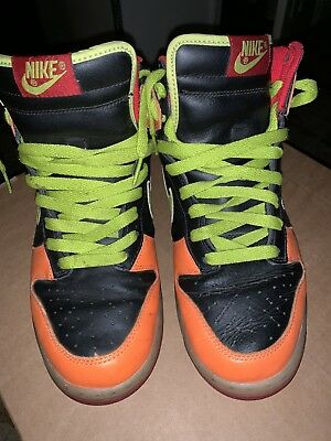 7283ba23ff3b MEN S NIKE SB Dunk Multi Color Basketball Shoe Size 10.5   309432 ...