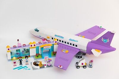 Lego Friends Heartlake Airport Set 41109 100 Complete With Pieces