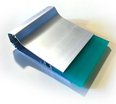 """New Ergo-Force Aluminum Screen Printing Squeegee w/ 70 Durometer Blade - 4"""""""