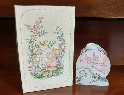 Antique Vintage Paper Litho Greeting Card Box