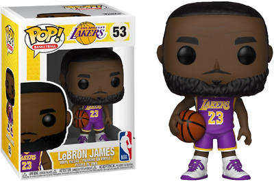 Funko Pop! Lebron James NBA LA Lakers Purple Jersey Fanatics Exclusive #53