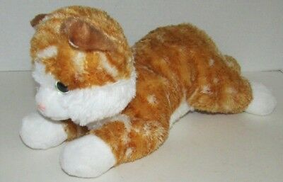 Aurora 12 Chester Orange Tabby Cat Stuffed Animal Toy Plush 5 99