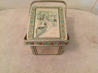 The Ladies' Home Journal~Collectible Vintage Tin~August 1912 Cover~Canoe Women