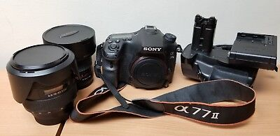 Sony Alpha a77 II 24.3MP Digital SLR Camera Combo Deal