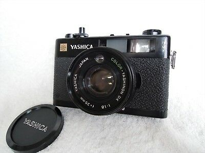 【EXCELLENT】YASHICA ELECTRO 35 CC 35mm Rangefinder Camera w/Cap, from Japan