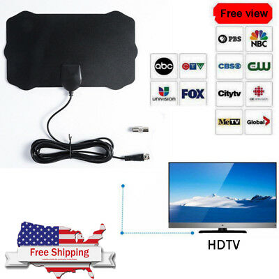200 Mile Range Antenna TV Digital HD Skylink 1080P 4K Antena Digital Indoor HDTV