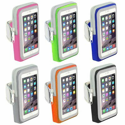 Sports Running Jogging Gym Armband Case Cover Bag For iPhone 8 X 7 6s Plus GA