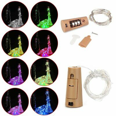 Battery Powered Copper Wire String Fairy Xmas Party Light Color Warm White GA