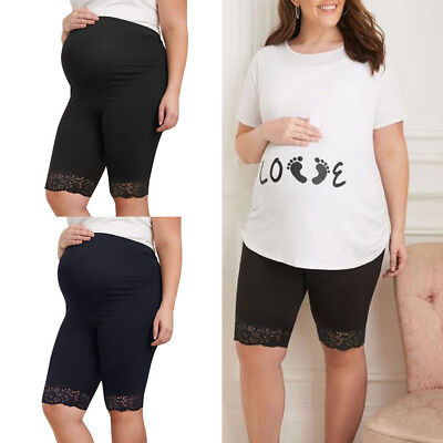 Women Comefortable Under The Bump Maternity Panties Pregnancy Leggings Underwear