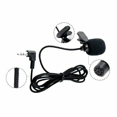 External Clip-on Lapel Mini Lavalier Microphone For iPhone Huawei Phone PC GA