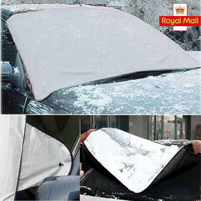 Magnetic Car Windscreen Cover Ice Frost Shield Snow Dust Protector Sun Shade New
