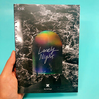 KNK - LONELY NIGHT (SINGLE ALBUM) Brand New & Factory Sealed