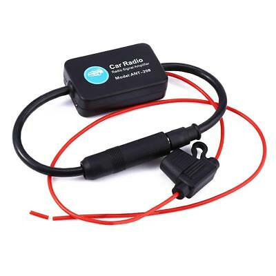ANT-208 Car Auto Radio Antenna Aerial AM & FM Signal Portable Amplifier Booster