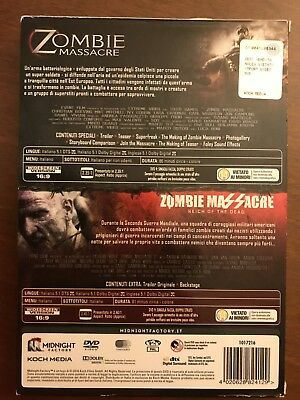 Zombie Massacre Saga - Limited Edition (2 DVD + Booklet) MIDNIGHT FACTORY