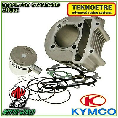 9501C014 Kit Gruppo Termico Cilindro Completo Kymco People S 200I 200 2007