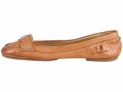 7f309da1a36689 La Martina Polo Damen Leder Schuhe Leather Shoes Ballerinas Gr. EU 37 UK 4  US