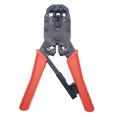 Wire Stripping Crimp Cutting Tool Hand Tools Stripper Cutter for RJ P Cat Cables