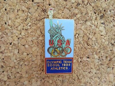 1988 Seoul USA Olympic Team Statue of Liberty ATHLETICS