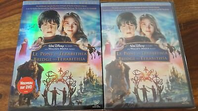 Walt Disney's Bridge to Terabithia (french-english-spanish audio) region 1 dvd