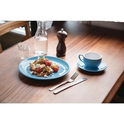 Olympia Cafe Coupe Plate Blue 205mm