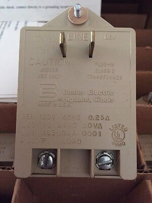 Alarm System Transformer  NEW Use on any 16.5 VAC system Made in USA!