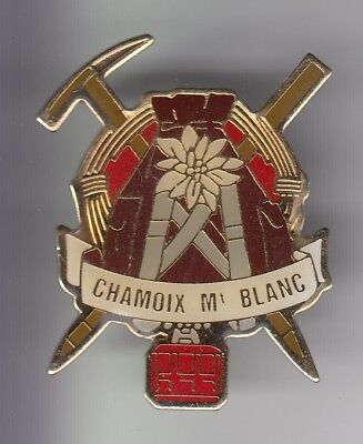 Rare Pins Pin's .. Sport Escalade Alpinisme Telepherique Chamonix Mont Blanc ~Dx