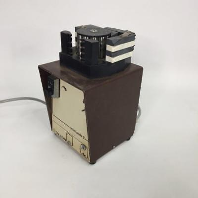 Peristaltic Pump Gilson Minipuls 2 with 4 Channel Head not Watson Marlow