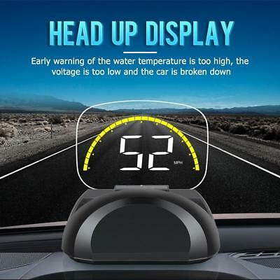 C700S LED Car HUD OBD2 OBDII Head Up Display Overspeed Warning System Projector