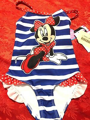 Disney Minnie Mouse 2T One Piece New With Tags B7