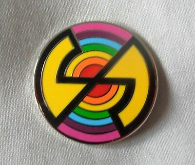 **NEW** Captain Scarlet enamel pin badge. Spectrum Logo, Retro,Kids,Childrens TV