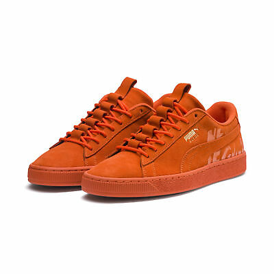 MEN S PUMA SUEDE Atelier New Regime Orange Shoes (366534-01 ... ee13f1d4f