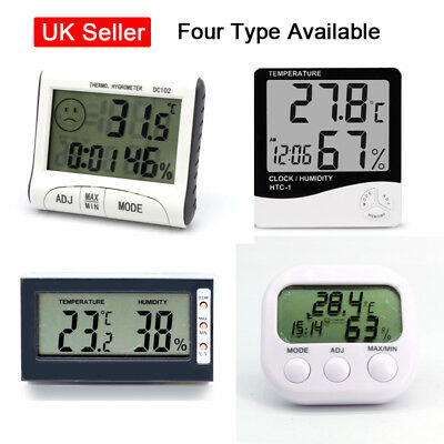 Digital LCD Thermometer Hygrometer Humidity Tester Temperature Greenhouse Indoor