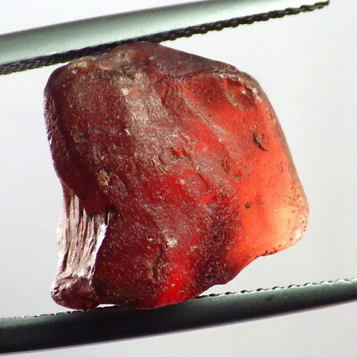 MALAIA / MALAYA GARNET-E. AFRICA 15.52Ct ORANGE+CINNAMON+RED COLOR-FACET GDE