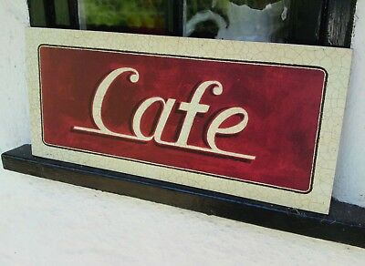 Cafe Sign Diner Retro Vintage Americans Sign Home Restaurant Shop wholesale