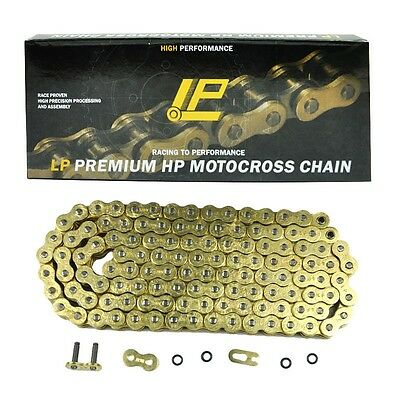 122L 525 Pitch Gold Heavy Duty O-ring Motorcycle Drive Chain Aprilla Triumph