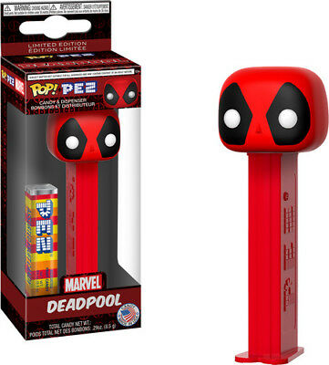 Marvel - Deadpool - Funko Pop! Pez: (2018, Toy NUEVO)